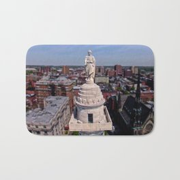 Washington Monument: Baltimore Bath Mat