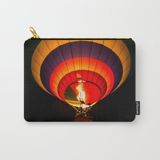 Night hot air balloon adventure Carry-All Pouch