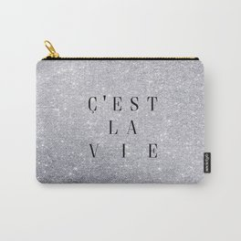 C'est La Vie Carry-All Pouch