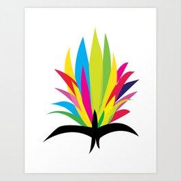 Frida's ideas Art Print