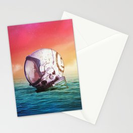 The Feeling Of Waves Stationery Cards