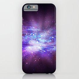 Abstract Nebula #8: Purple blast iPhone Case