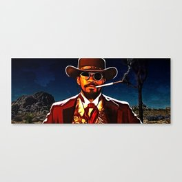 The D is Silent Canvas Print