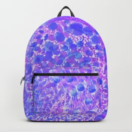 Ultra Violet Watercolor Painting Backpack