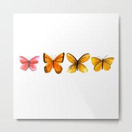 Butterflies no 2 Metal Print