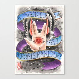 Live Long, and Prosper Canvas Print
