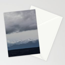 Olympic Mountains, Hansville, WA Stationery Cards