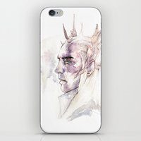 thranduil iPhone & iPod Skins featuring Thranduil by Caeruls