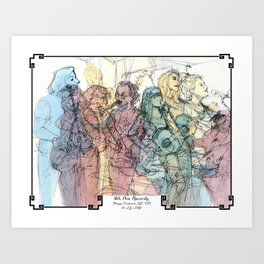 11th Ave Records House Concert Art Print
