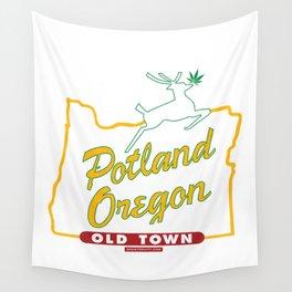 Potland Oregon Wall Tapestry
