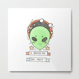 Somebody Thinks You're Stellar Metal Print