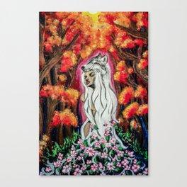 Powerful Blossom Canvas Print