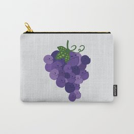 Grumpy Grapes // Alternatively Grapes of Wrath Carry-All Pouch