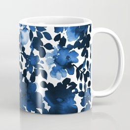 Sophia Floral Blue Coffee Mug