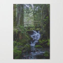 Copper Creek Bridge Canvas Print