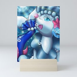 Deep Sea Siren Mini Art Print