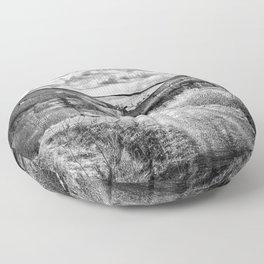 Woodland Valley Floor Pillow