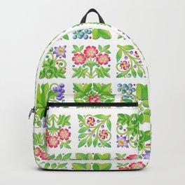 Tudor Flowers Backpack