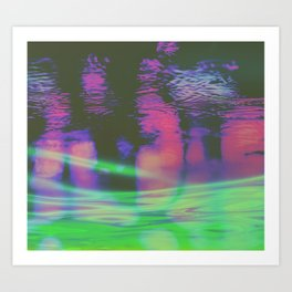 METROS Art Print
