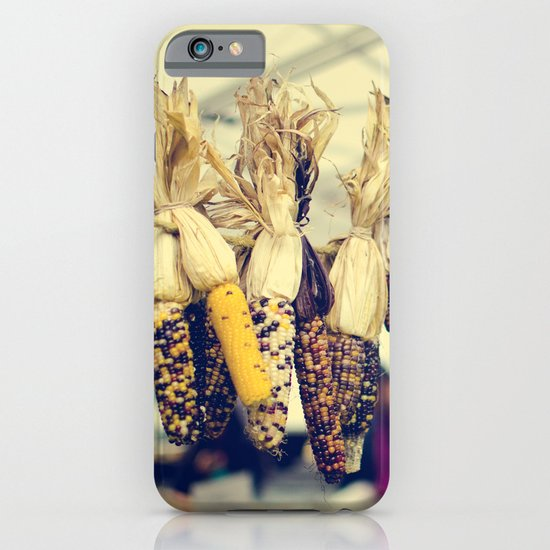 Indian Corn at the Farmers Market iPhone & iPod Case