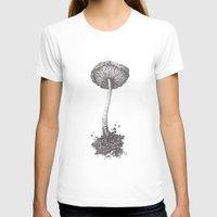 mushroom T-shirts featuring Mushroom by Amber J Cross