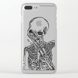 Frank Skelly Clear iPhone Case