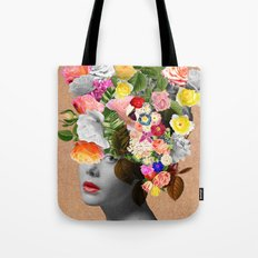 Mary Floral Tote Bag