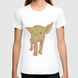 Inquisitive Piggy T-shirt