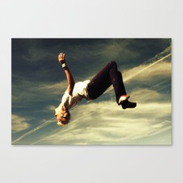 Backflip Canvas Print