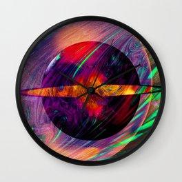 Galaxy 11:11- Sacred Geometry Art- Fractal Art Wall Clock