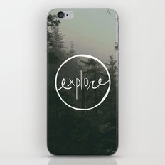 Explore Oregon Forest iPhone & iPod Skin