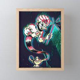 Owen Magic Framed Mini Art Print