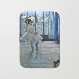 Edgar Degas - Dancer In Front Of A Window Bath Mat