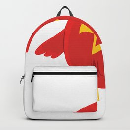 Red bird sweet Backpack
