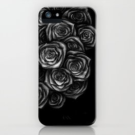 Roses Illustration iPhone Case