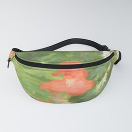 Abstract Poppies Fanny Pack