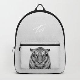 African Tiger Backpack