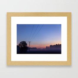 Tellus Framed Art Print