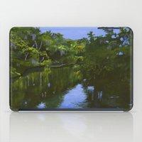 turkey iPad Cases featuring Turkey Creek by Roger Wedegis
