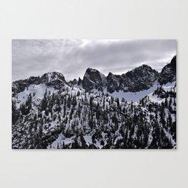 Snow Lake Trail Canvas Print
