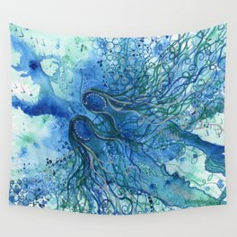 Drifting Together Wall Tapestry