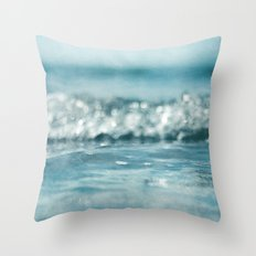 you are the ocean Throw Pillow