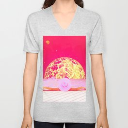 Hot Summer by GEN Z Unisex V-Neck