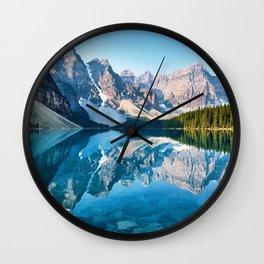 Moraine Lake, Canada #buyart #society6 Wall Clock