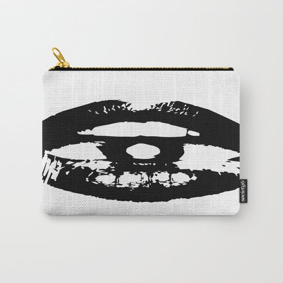 A Black Kiss Carry-All Pouch