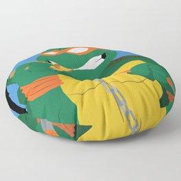 A Party Dude Floor Pillow