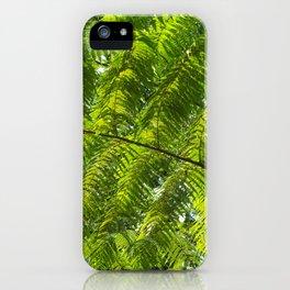 jungle fern iPhone Case