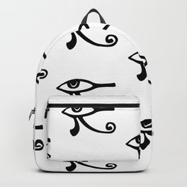 Mysterious Eye Seamless Pattern Backpack