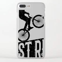 Just ride Clear iPhone Case