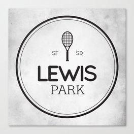 Lewis Park Canvas Print